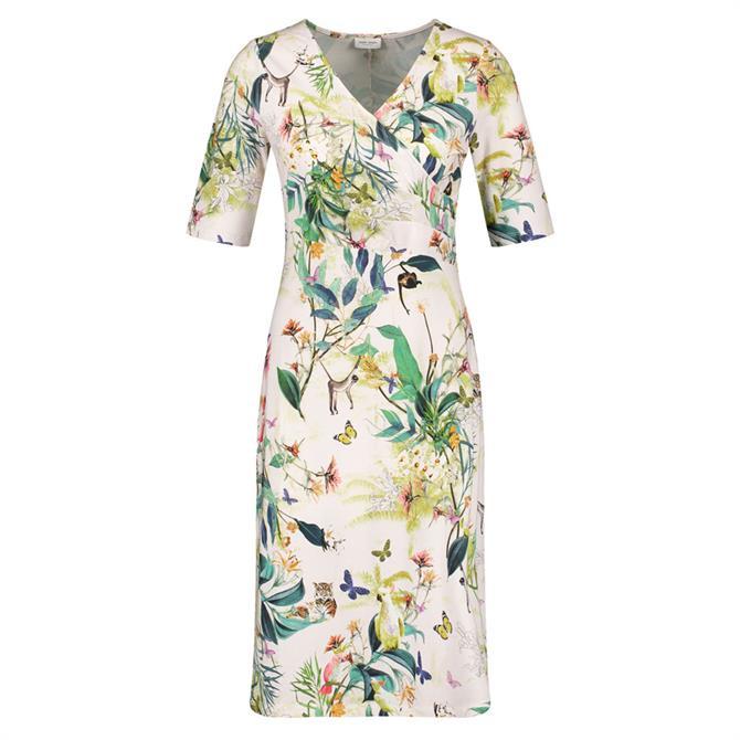 Gerry Weber Tropical Print Wrap Dress