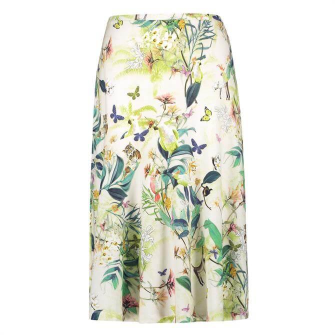Gerry Weber Tropical Summer Print Godet Skirt