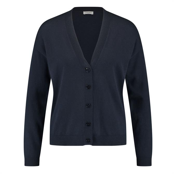 Gerry Weber V-Neck Navy Cardigan