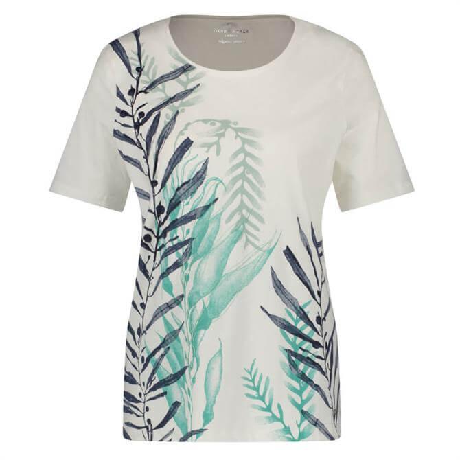 Gerry Weber Water Leaf Print T-Shirt