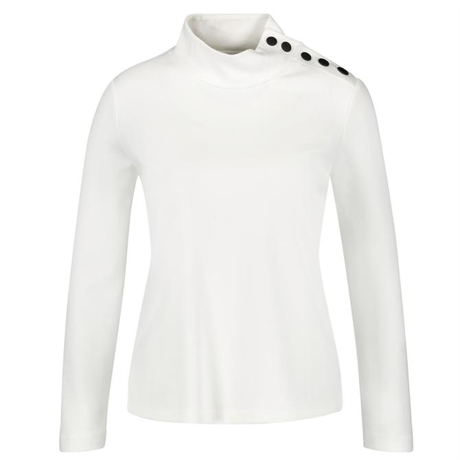 Gerry Weber Button Trim Sweatshirt
