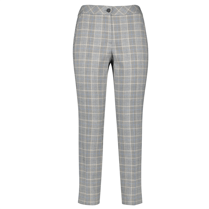 Gerry Weber Glencheck Cropped Trousers