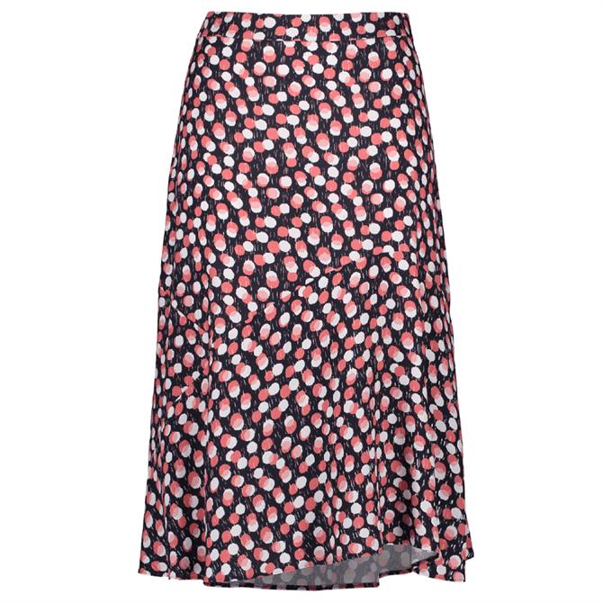 Gerry Weber Polka Dot Bias Cut Midi Skirt