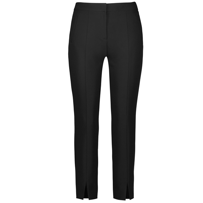 Gerry Weber Cropped Length Stretch Black Trousers