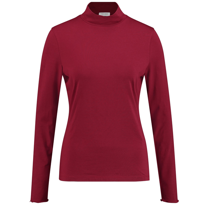 Gerry Weber Turtleneck Long Sleeve Jersey Top
