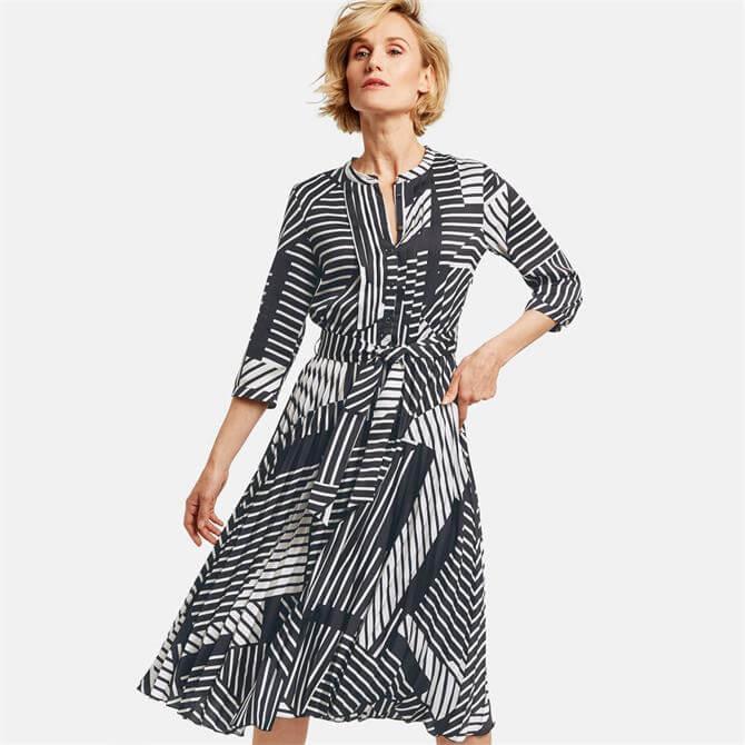Gerry Weber Graphic Print Midi Dress