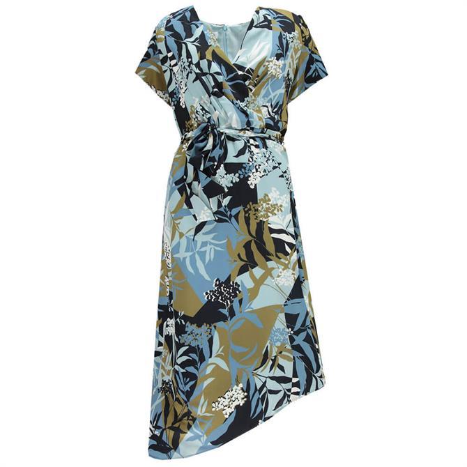 Gerry Weber Asymmetric Hem Floral Print Dress