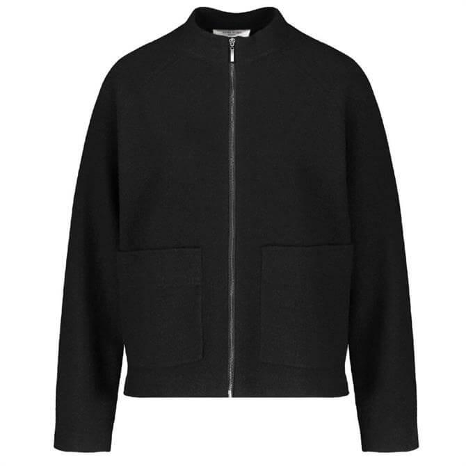 Gerry Weber Zip through Short Wool Jacket
