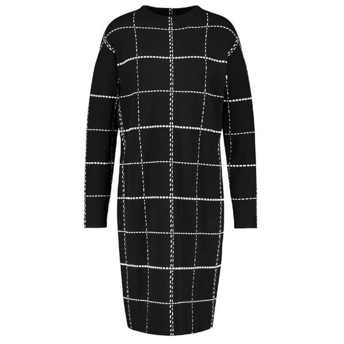 Gerry Weber Checked Knitted Dress