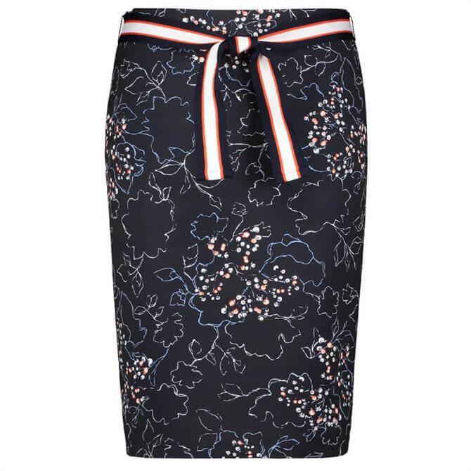 Gerry Weber Floral Print Stretch Pencil Skirt