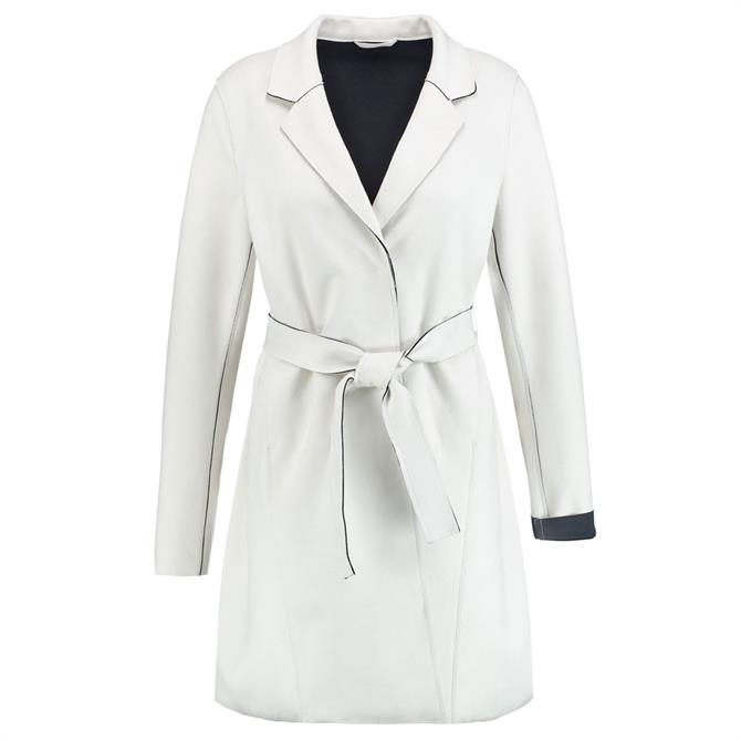 Gerry Weber Double-Faced Belted Scuba Coat
