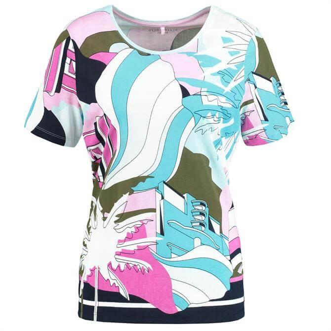 Gerry Weber Miami Print T Shirt