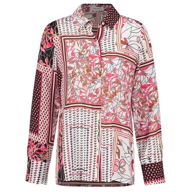 Gerry Weber Patchwork Print Long Sleeve Shirt