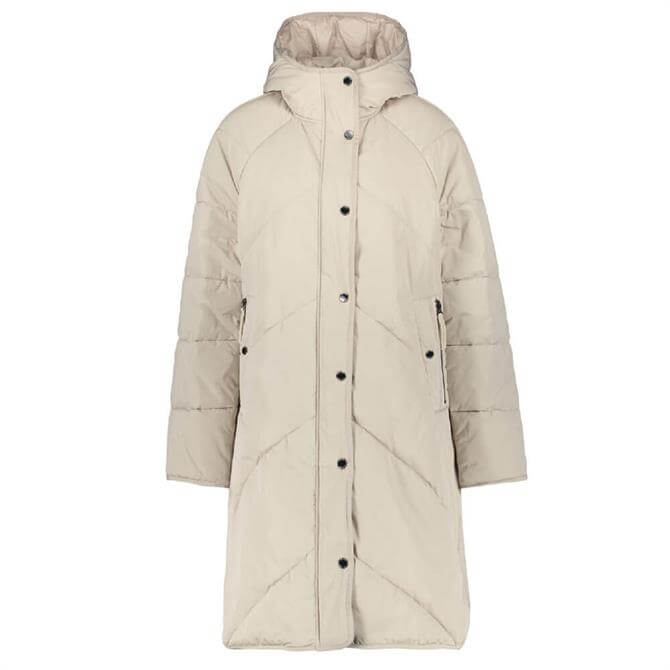 Gerry Weber Hooded Quilted Longline Jacket