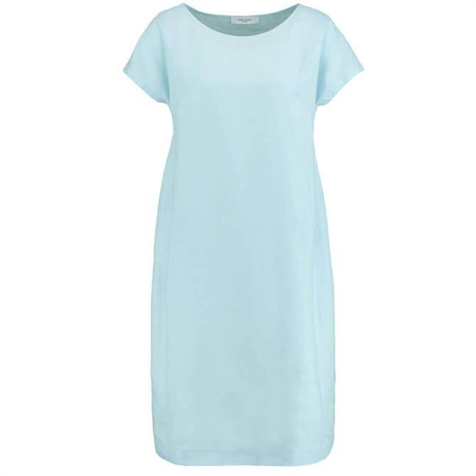 Gerry Weber Short Sleeve Linen Dress