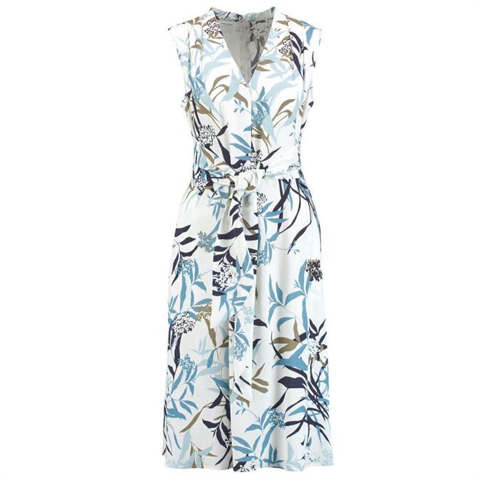 Gerry Weber Wrap-Over Effect Floral Print Dress