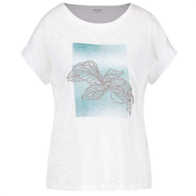 Gerry Weber Leaf Print T-Shirt