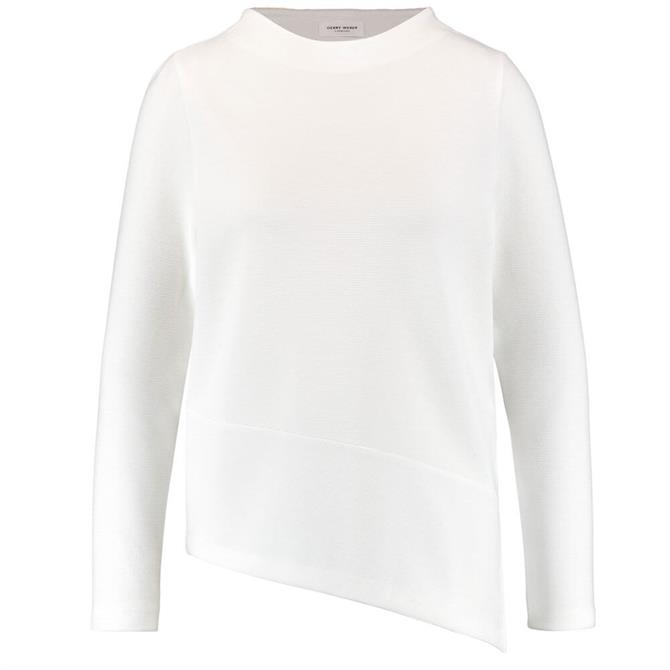 Gerry Weber Long Sleeve Asymmetric Hem Top