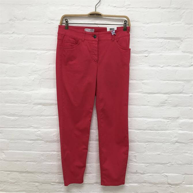 Gerry Weber Cropped Tapered Slim Travel Jeans