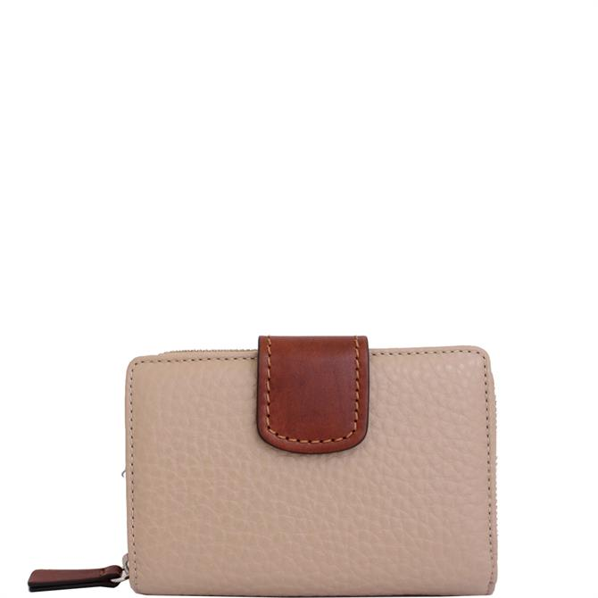 Gianni Conti Pebbled Leather Wallet