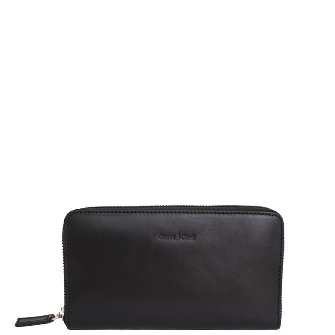 Gianni Conti Zip Around Wallet