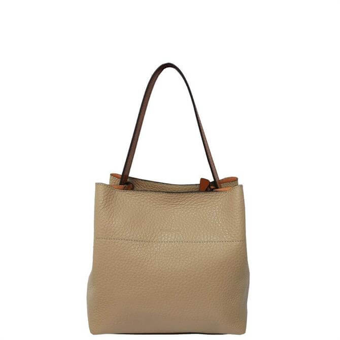 Gianni Conti Pebbled Leather Multiway Bag