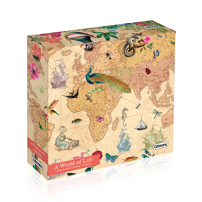 Gibsons 1000 Piece A World of Life Jigsaw Puzzle
