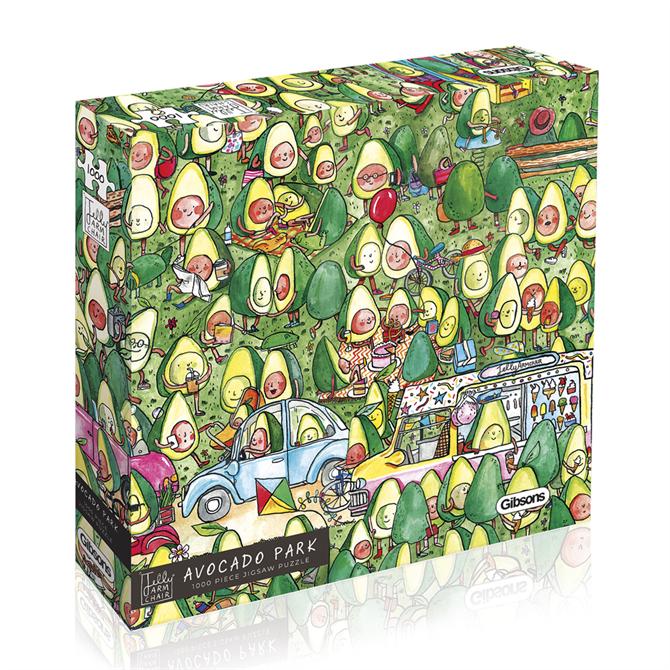 Gibsons 100 Piece Avocado Park Jigsaw Puzzle
