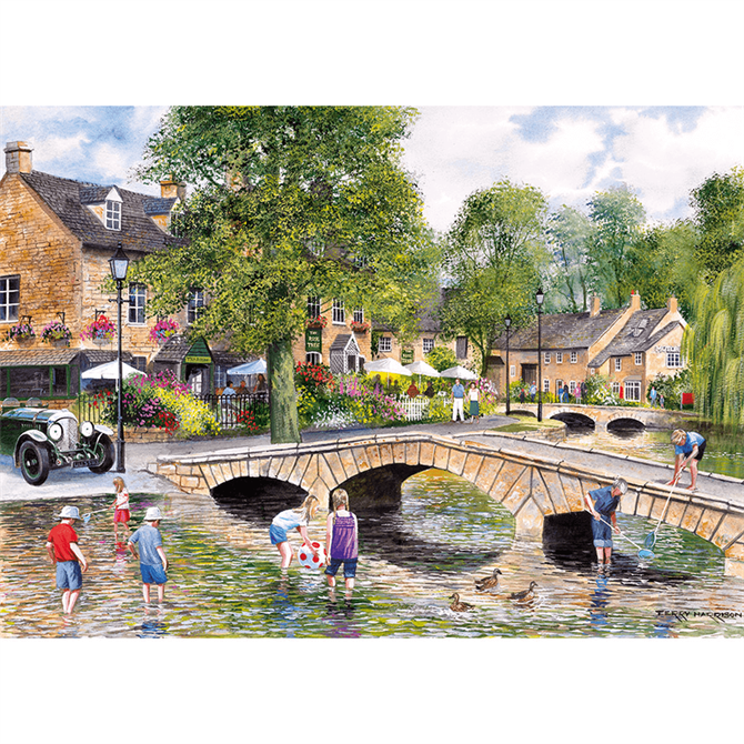 Gibsons 1000 Piece Bourton-on-the-Water Jigsaw Puzzle