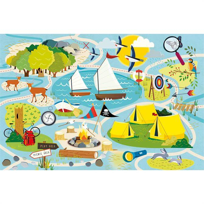 Gibsons Camp Gibson 36 Piece Childrens Puzzle