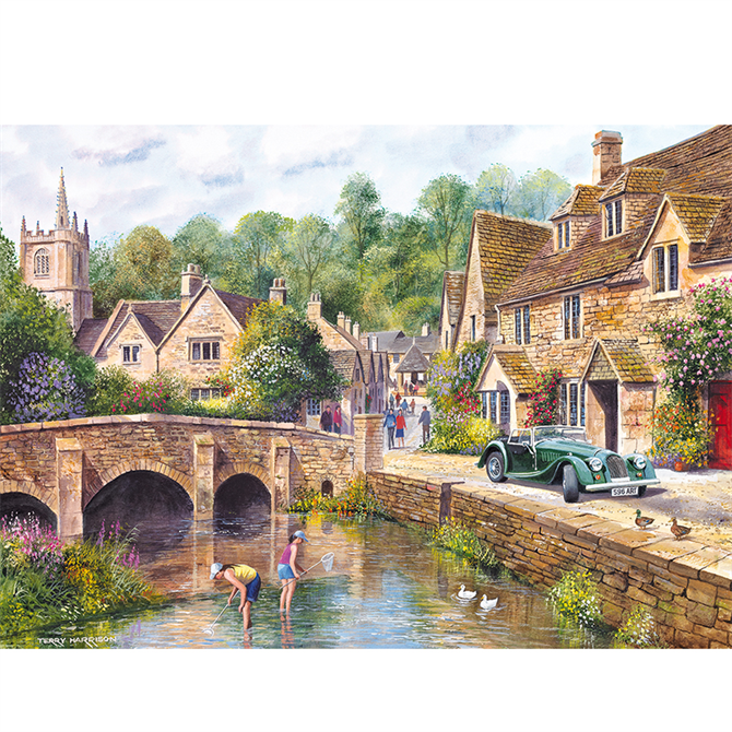 Gibsons 1000 Piece Castle Combe Jigsaw Puzzle