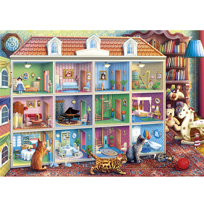 Gibsons 1000 Piece Curious Kittens Jigsaw Puzzle