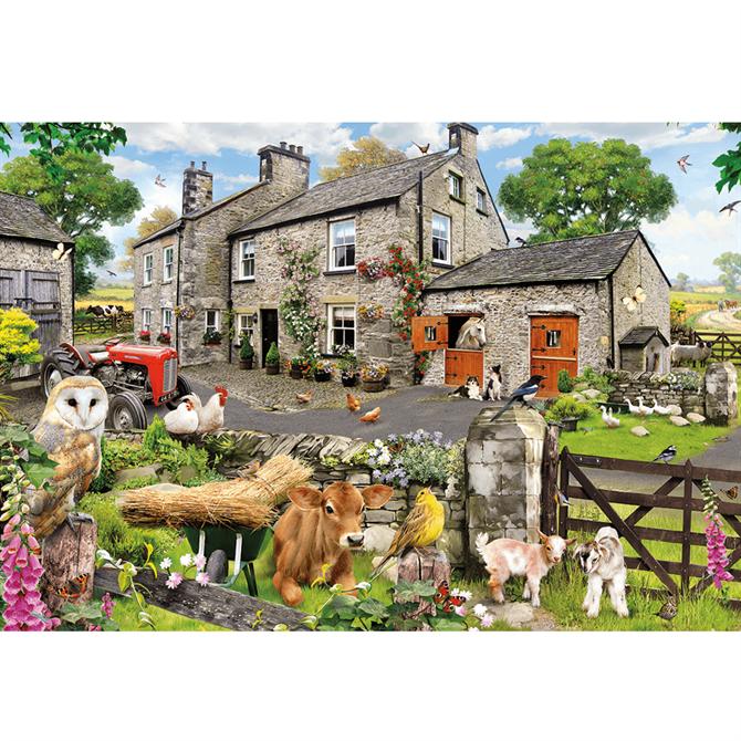 Gibsons Farmyard Friends 100XXL Jigsaw Puzzle