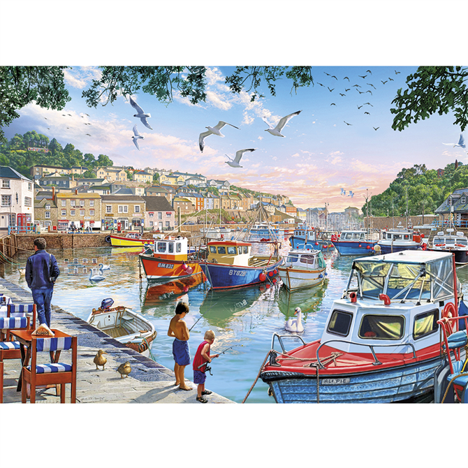 Gibsons 500 XL First Catch Jigsaw Puzzle