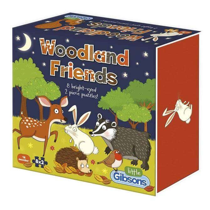 Gibsons Woodland Friends Children's Jigsaw Puzzle