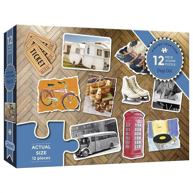 Gibsons Piecing Together - Day Out Extra Large Jigsaw Puzzle