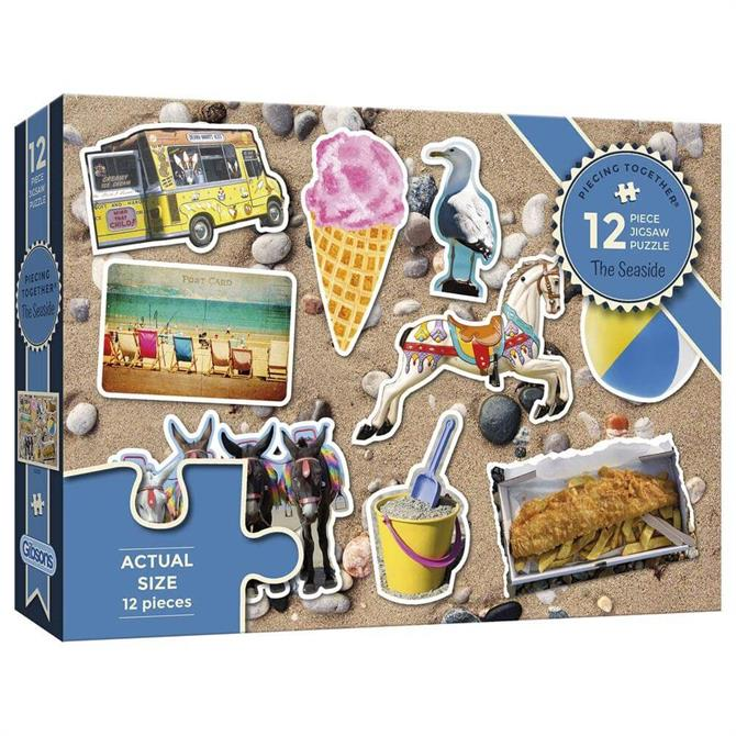 Gibsons Piecing Together - At the Seaside Extra-Large Jigsaw Puzzle