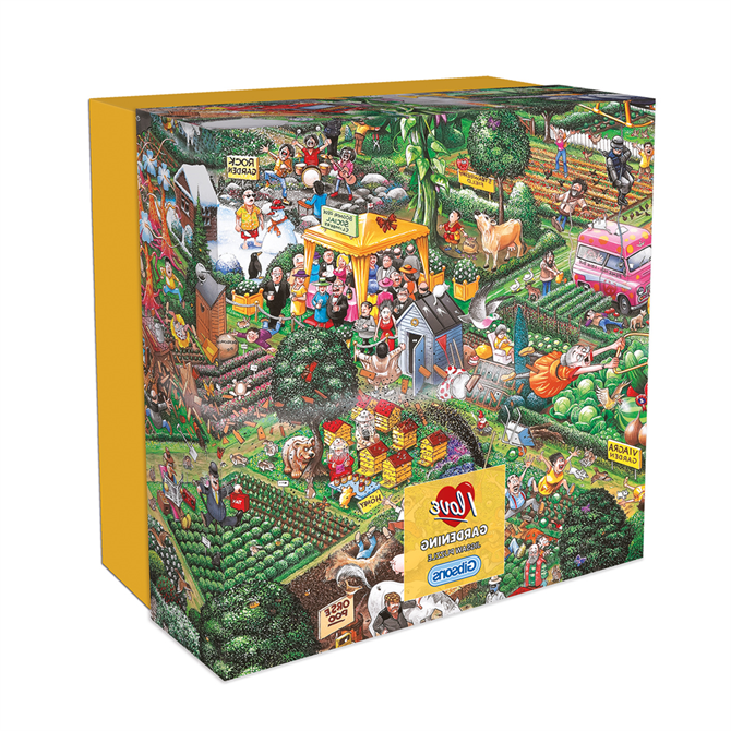 Gibsons I Love Gardening Gift Jigsaw Puzzle