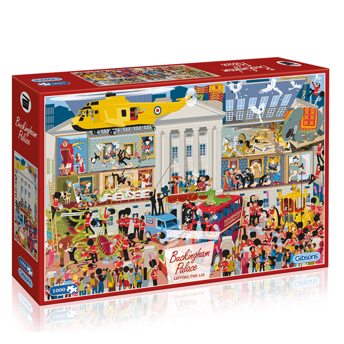 Gibsons Lifting the Lid - Buckingham Palace Jigsaw Puzzle