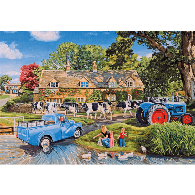 Gibsons 250 XL Milk on the Move Jigsaw Puzzle