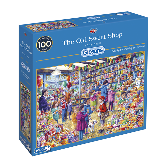 Gibsons 1000 Piece The Old Sweet Shop Jigsaw Puzzle