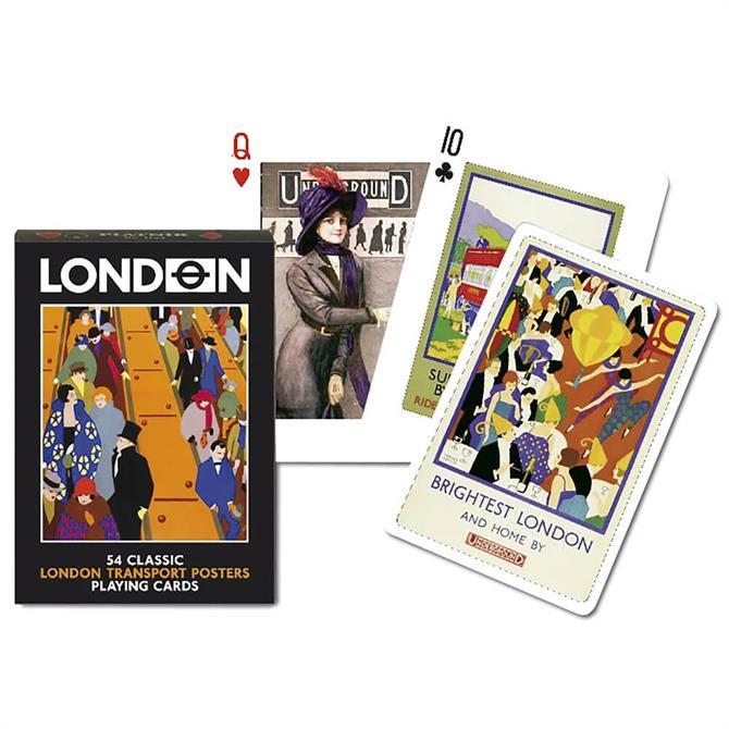 Gibsons Piatnik London Transport Posters Cards