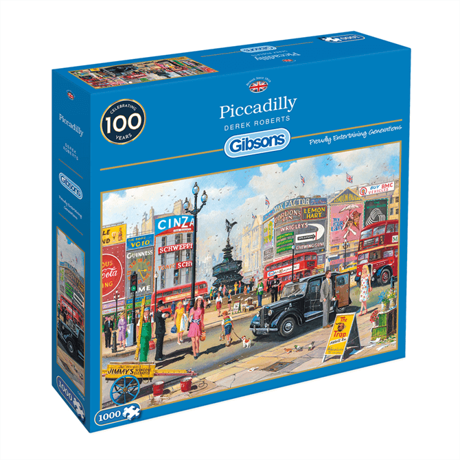 Gibsons 1000 Piece Piccadilly Jigsaw Puzzle