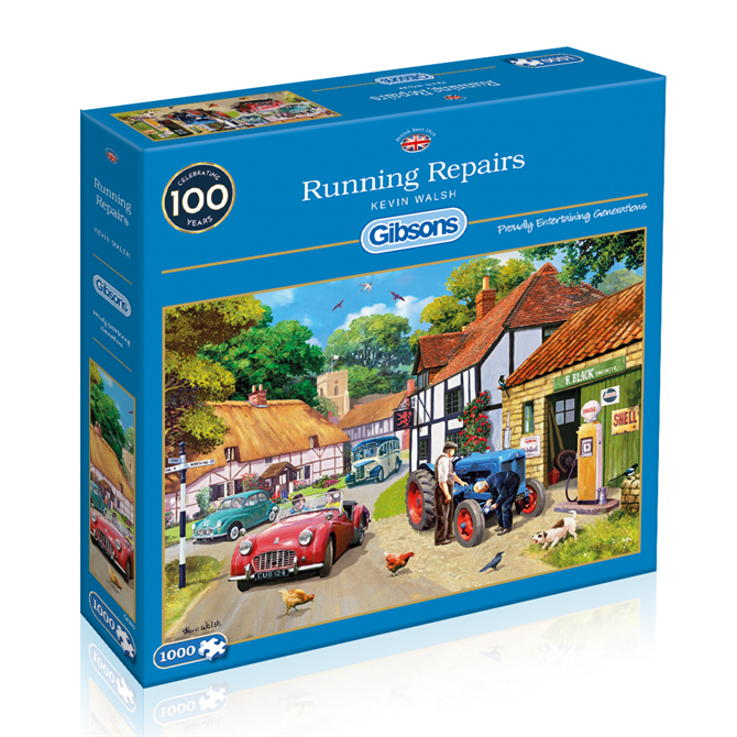 Gibsons 1000 Piece Running Repairs Jigsaw Puzzle