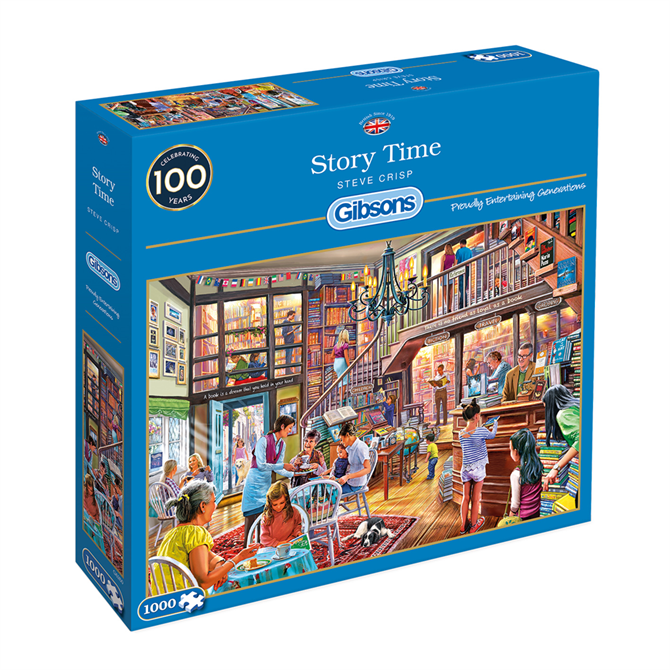 Gibsons 1000 Piece Story Time Jigsaw Puzzle