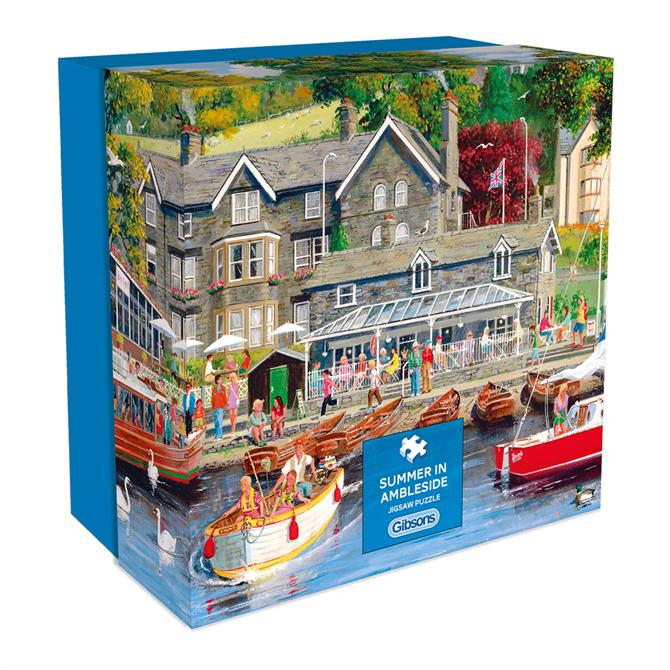 Gibsons 500 Piece Summer in Ambleside Gift Jigsaw Puzzle