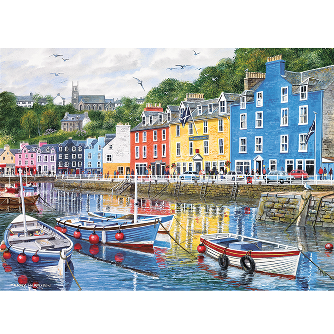 Gibsons 1000 Piece Tobermory Jigsaw Puzzle