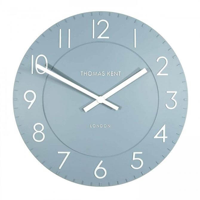 Thomas Kent Townhouse Demin Wall Clock