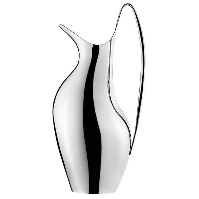 Georg Jensen HK Pitcher Mirror Polished Stainless Steel