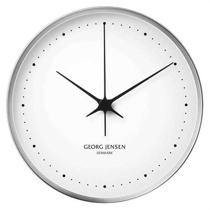 Georg Jensen Koppel Wall Clock Stainless Steel